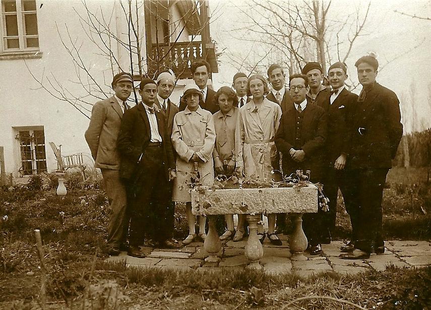 Екскурзия с доц. Бешевлиев 1930 г.