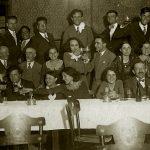 Проф. Дечев, Балабанов, Кацаров, Филов – 1930 г.