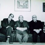 Проф. Михайлов, проф. Бешевлиев и проф. Геров – кр. на 80-те